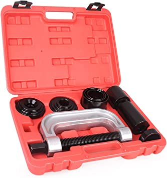 Newsmarts Heavy Duty Ball Joint Service Tool for Most 2WD and 4WD Cars and Light Trucks Press U-Joint Removal Tool Kit with 4-Wheel Drive Adapters