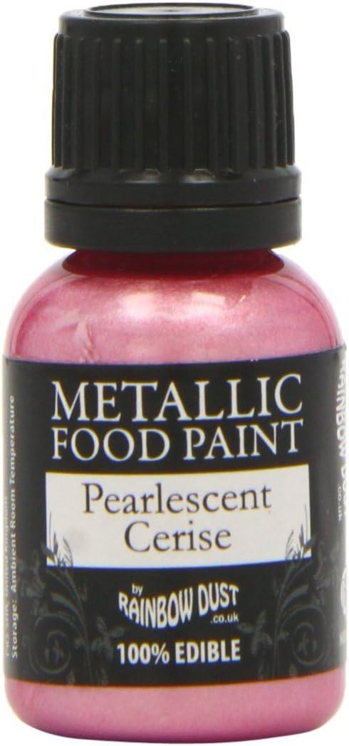 Rainbow Dust Metallic Paint Pearlescent Cerise
