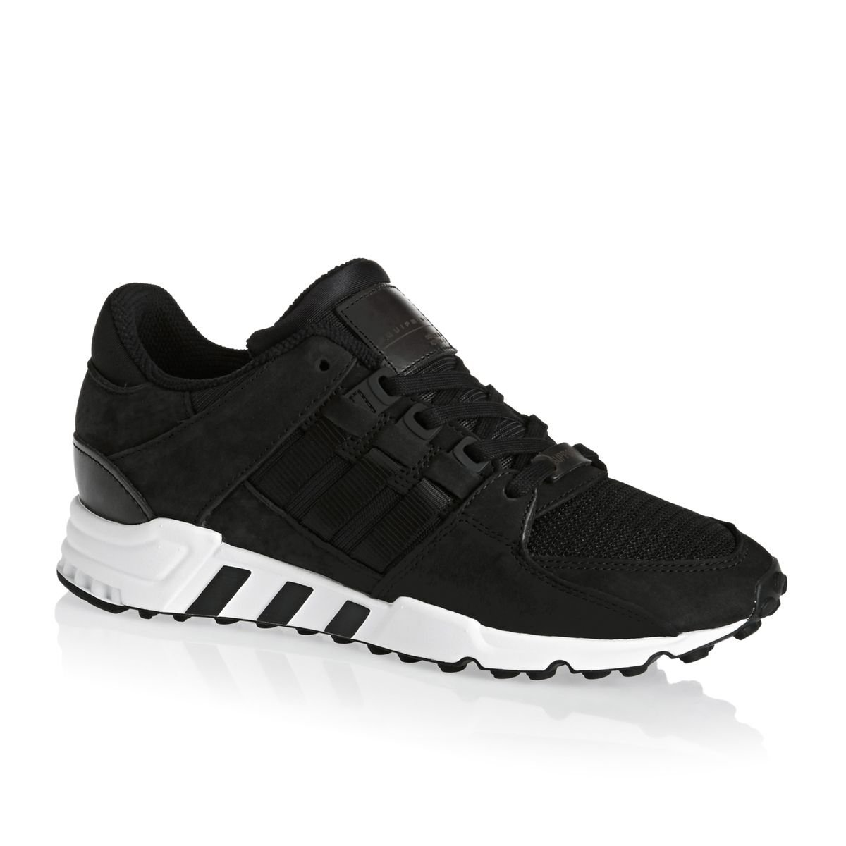huge discount e15d0 7f775 adidas Mens Originals EQT Support Rf Trainers in Black Amazon.co.uk Shoes   Bags