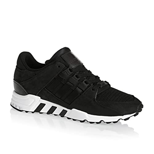 watch ff3f1 941fe adidas Mens Originals EQT Support Rf Trainers in Black ...
