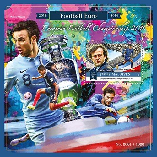 Maldives - 2015 Football Championship - Stamp Souvenir Sheet - 13E-457