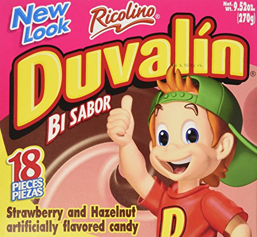 Duvalin Candy (Duvalin Choc-Strawberry Candy (9.52 oz))