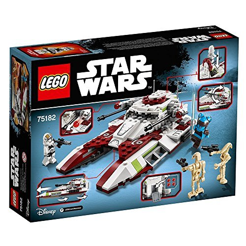 LEGO Star Wars Republic Fighter Tank 75182 Building Kit JungleDealsBlog.com