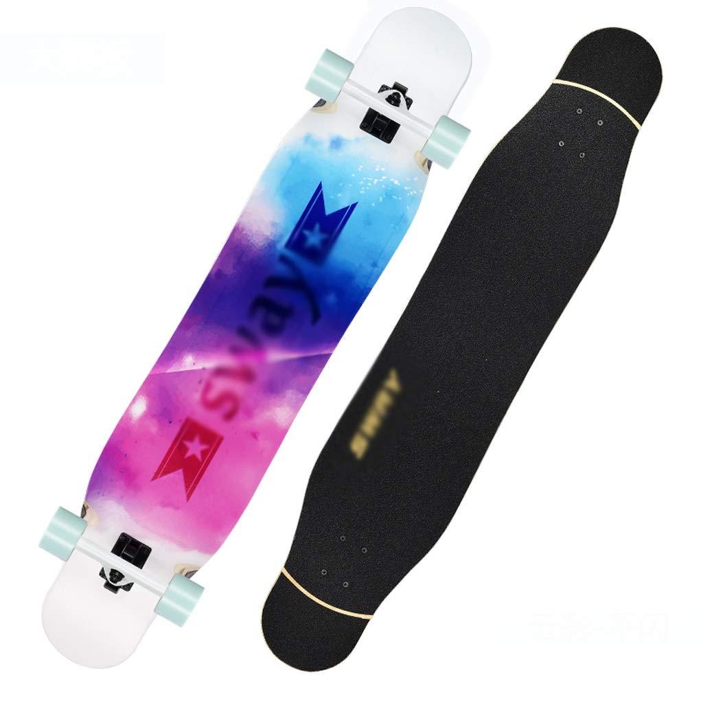【新品本物】 DUWEN (色 スケートボードメープルロングボード初心者男の子と女の子プロのスケートボードティーンブラシストリートダンスボード四輪スクーター (色 : C) C) B07PGLTLVL : B B, joyjoymarket:817f4979 --- quiltersinfo.yarnslave.com