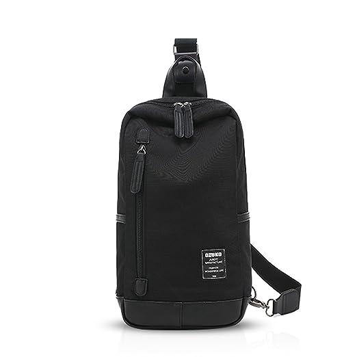 5c60264642bd FANDARE Sling Bag Chest Pack Shoulder Backpack Crossbody Bag Men Women  Sport Bag Lightweight Polyester