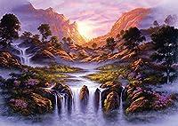 Schmidt Spiele Puzzle 59321 - Jon Rattenbury, Traumhafter Wasserfall, 1000 Teile