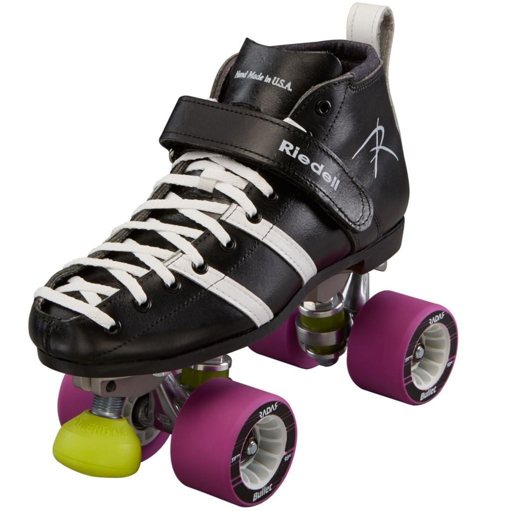 Riedell Wicked Derby Skates - Riedell 265 Roller Derby Quad Skates Size Size 6 - DB Width by Riedell