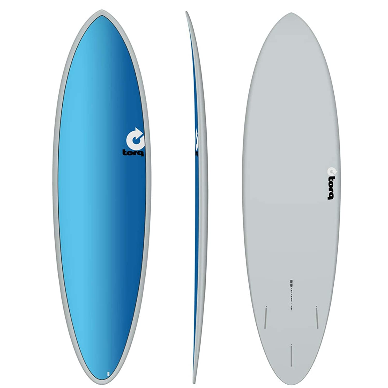 TORQ Tabla de Surf epoxy Tet 6.8 Fun Board Full Fade: Amazon.es ...