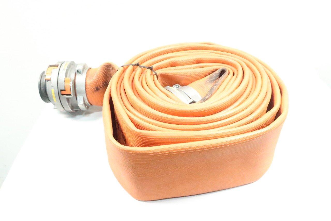FIREQUIP 7324 Orange 5IN Supply Attack LINE Hose D615607
