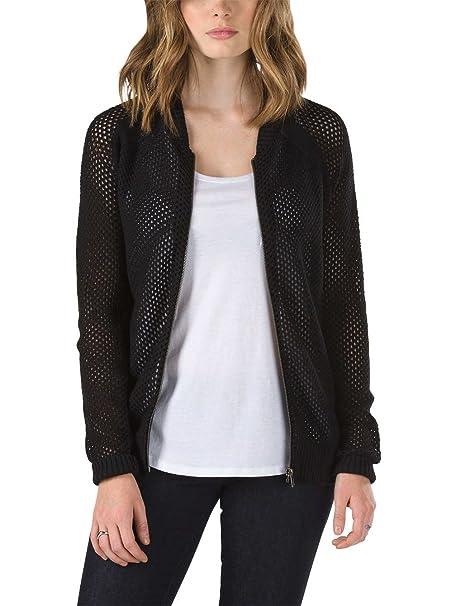 Vans - Giacca - Donna Black XL  Amazon.it  Abbigliamento a803c3f6aaed