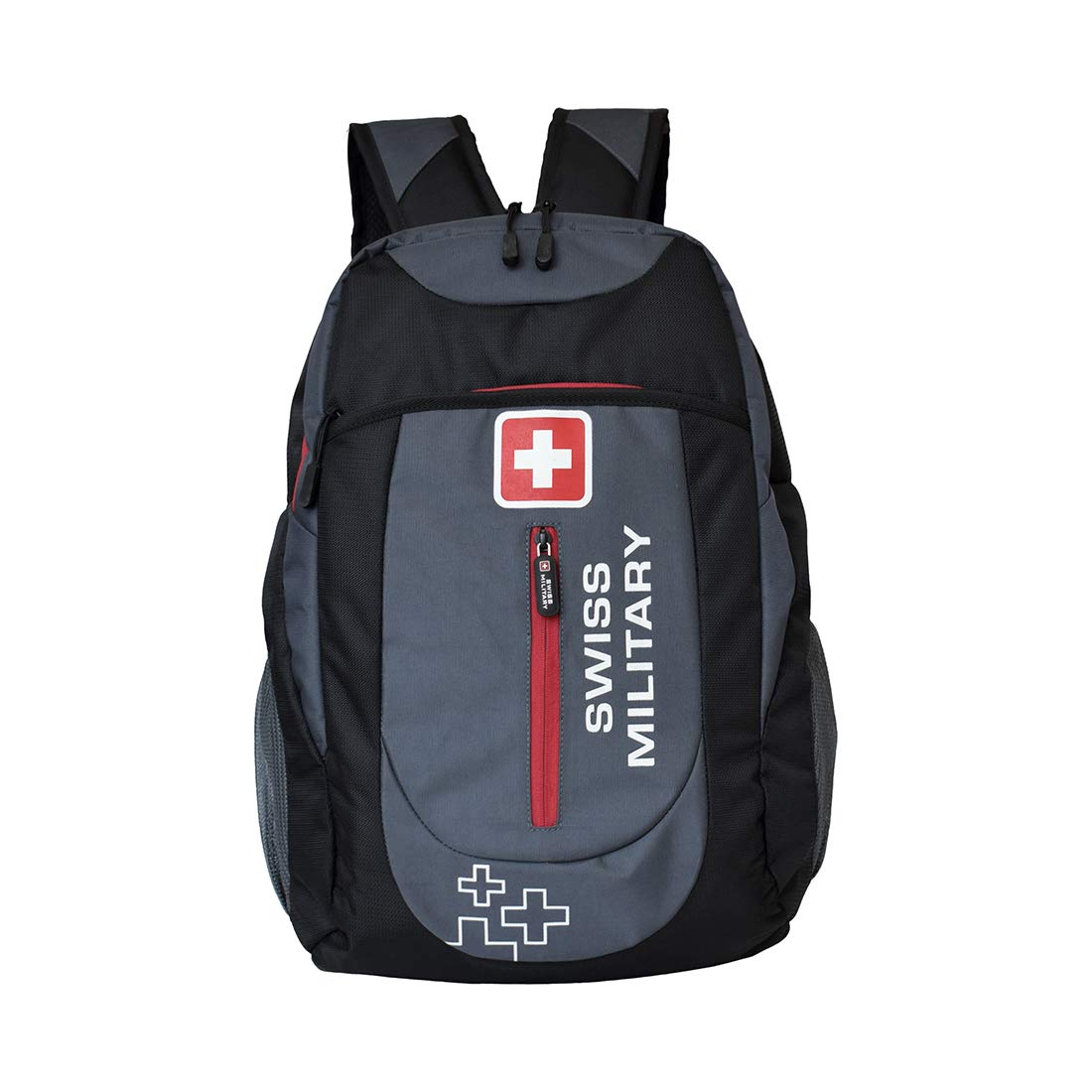 Swiss Military Grey and Black Laptop Bag (LBP40)