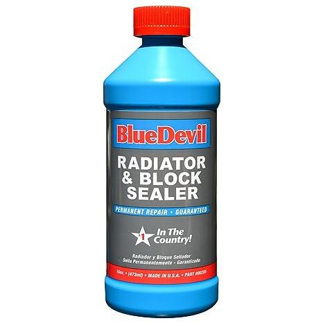 Amazoncom Blue Devil Radiator Block Sealer Automotive