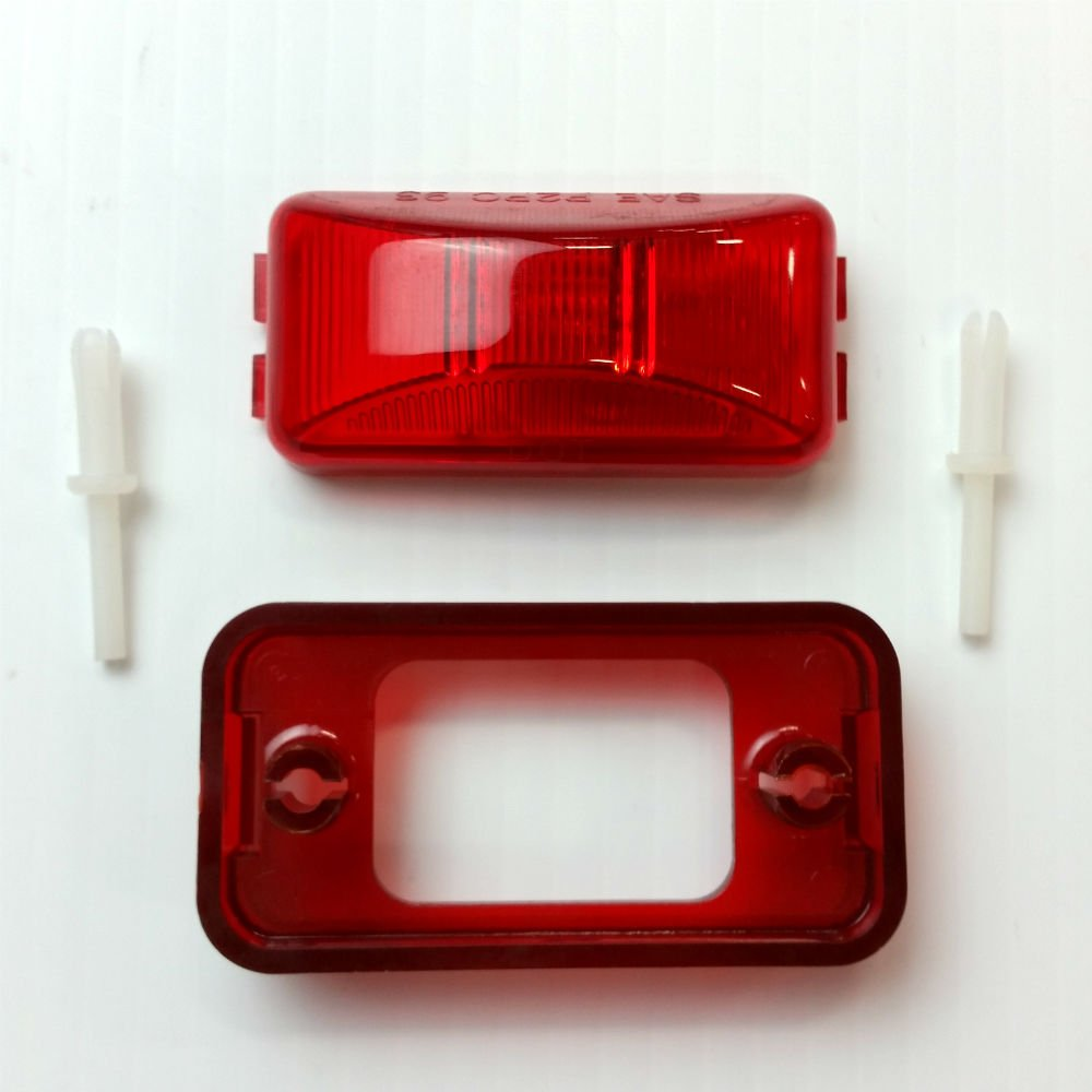 Shorelander SK0123 Red Side Marker/Clearance Light by ShoreLand'r
