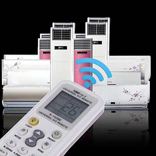Elayce Air Conditioner Remote AC Control LCD Universal Conditioning  Controller 1000 in 1 for Mitsubishi Toshiba HITACHI FUJITSU Daewoo LG Sharp