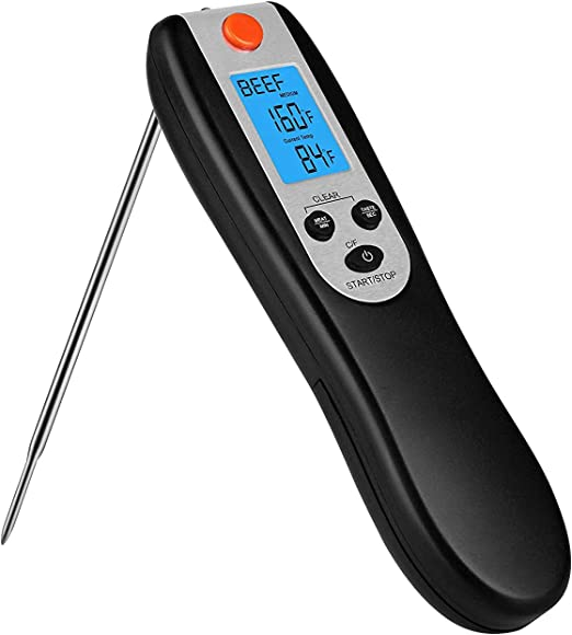 Meat Thermometer BBQ Probe Digital Grill Instant Read Food Cooking Grill Kitchen