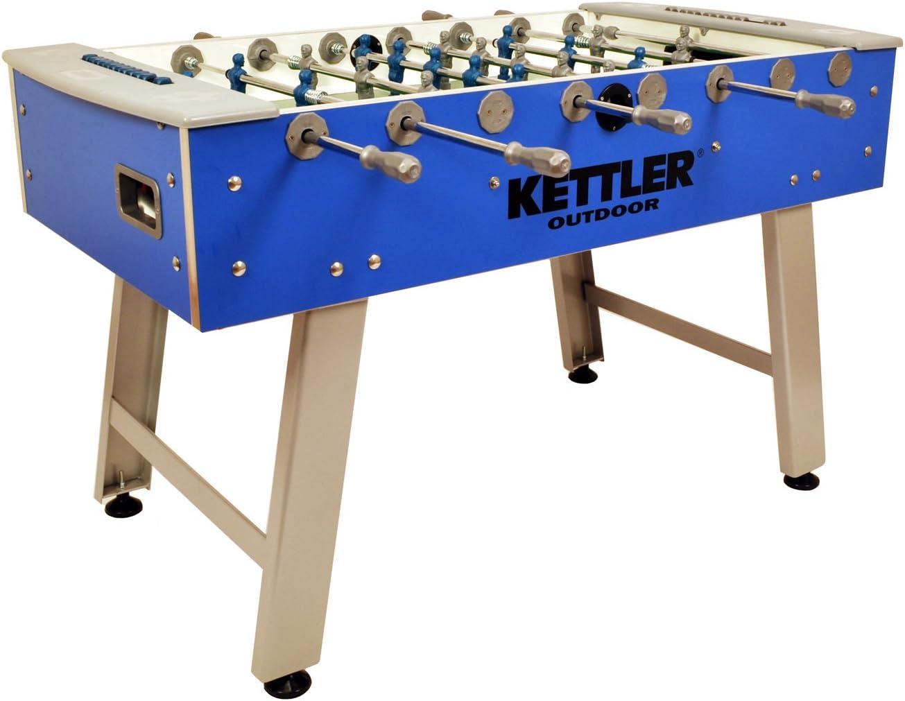Kettler Impermeable Indoor/Outdoor futbolín/fútbol Mesa de Juego: Amazon.es: Deportes y aire libre