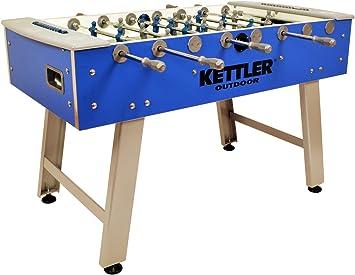Kettler Impermeable Indoor/Outdoor futbolín/fútbol Mesa de Juego ...