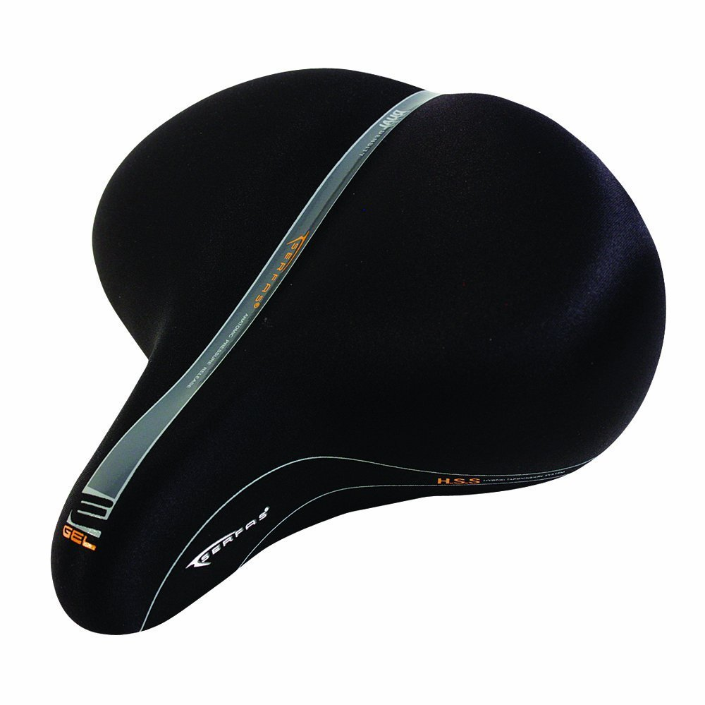 Serfas E-Gel Cruiser Bicycle Saddle [並行輸入品] B0784H5ZTN