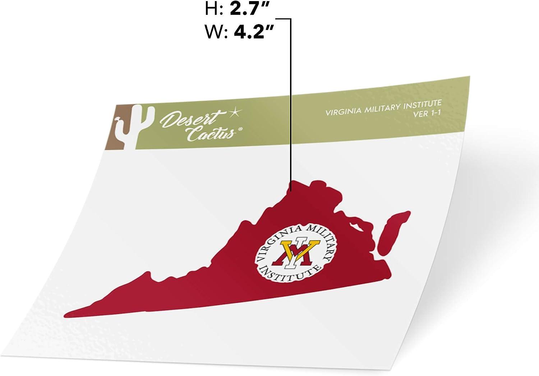 Virginia Military Institute VMI Keydets NCAA Vinyl Decal Laptop Water Bottle Car Scrapbook State Boarder Sticker