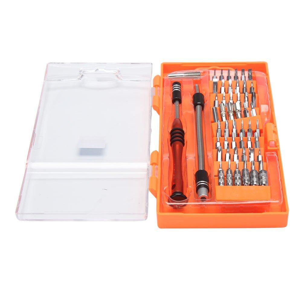 Neecooler 54-Piece Tool Screwdriver and Bit Driver Kit Torx Screwdriver Repair Tools Precision Screwdriver Set For Controller Phone Tablet Mac