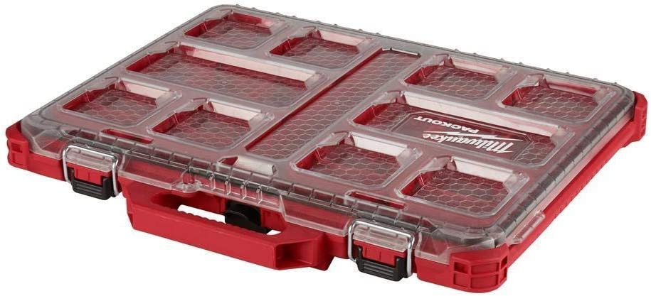 Milwaukee 48-22-8436 5-Compartment PACKOUT Compact Low-Profile Tool Organizer