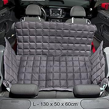 Doctor Bark 2 Door Car Blanket For Convertibles And Coups Grey