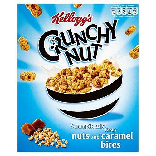 Crunchy Bites (Kellogg's Crunchy Nut Bites Nuts & Caramel - 360g)