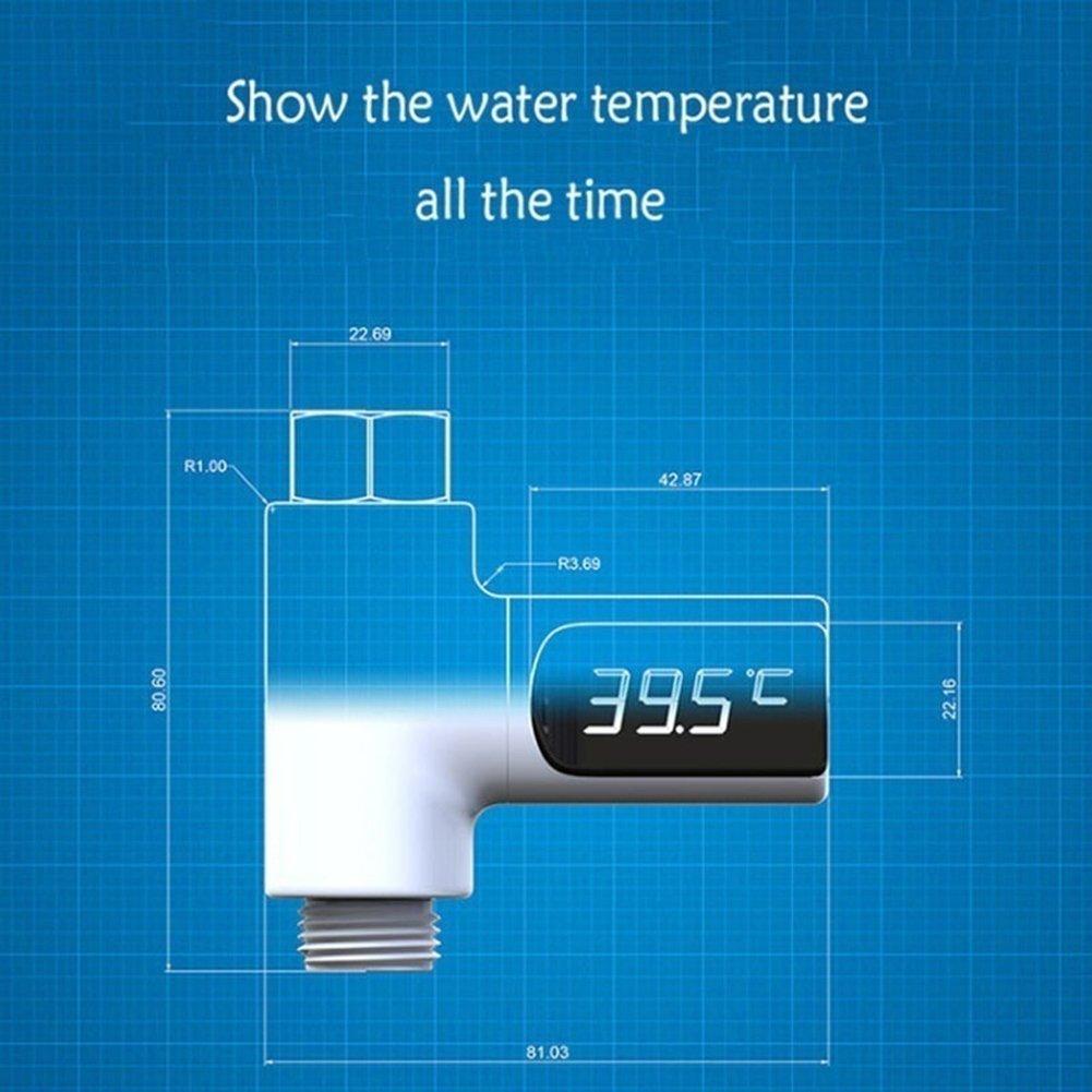 LED-Anzeige Temperatur Wasserzähler für die Babypflege