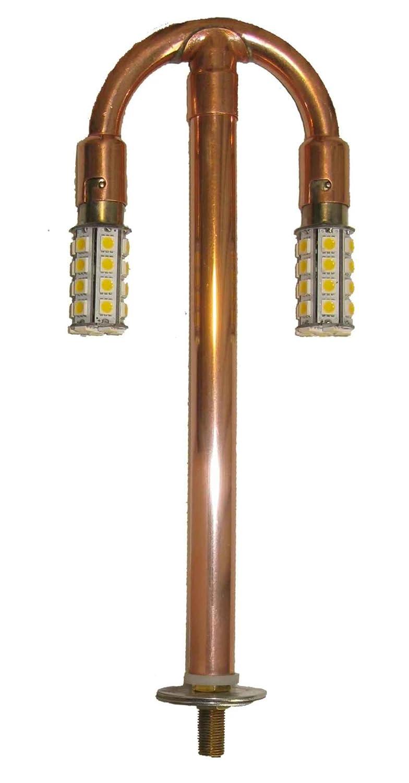 ポストランタン ガスランプ 変換電球 ツリーパーツ LED電球付き B07Q5QM4SV