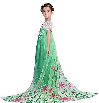Nndoll Disfraz De Carnaval Princesa Vestido Niña Anna Vestido Bebé Transparente 110 23 Años