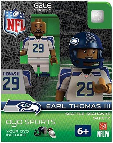 Earl Thomas OYO NFL Seattle Seahawks G2 Series 5 Mini Figure Limited Edition