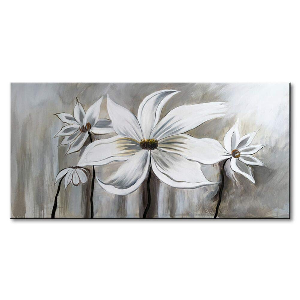 Seekland Art Hand Painted Flower Oil Painting On Canvas Floral Wall