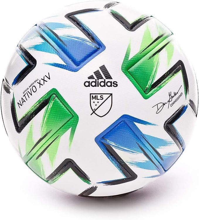 adidas MLS Pro Balón Fútbol Hombre, Multicolor (Blanco/AZUSAM ...