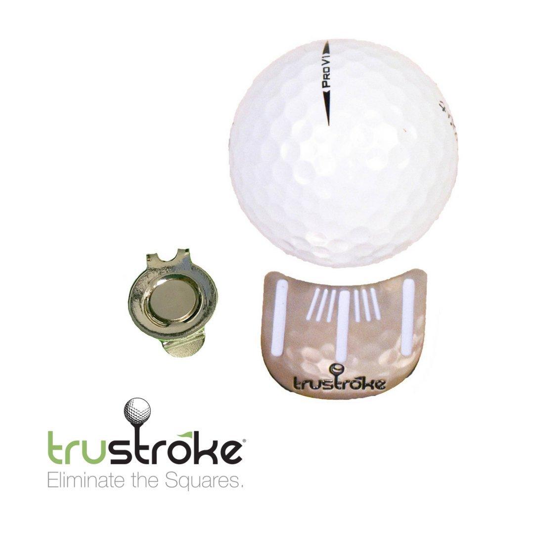 trustroke Linedゴルフボールマーカー   B07DVSJCGG