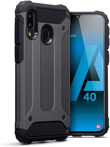 TERRAPIN Funda para Samsung Galaxy A40 Carcasa Híbrida de TPU + ...