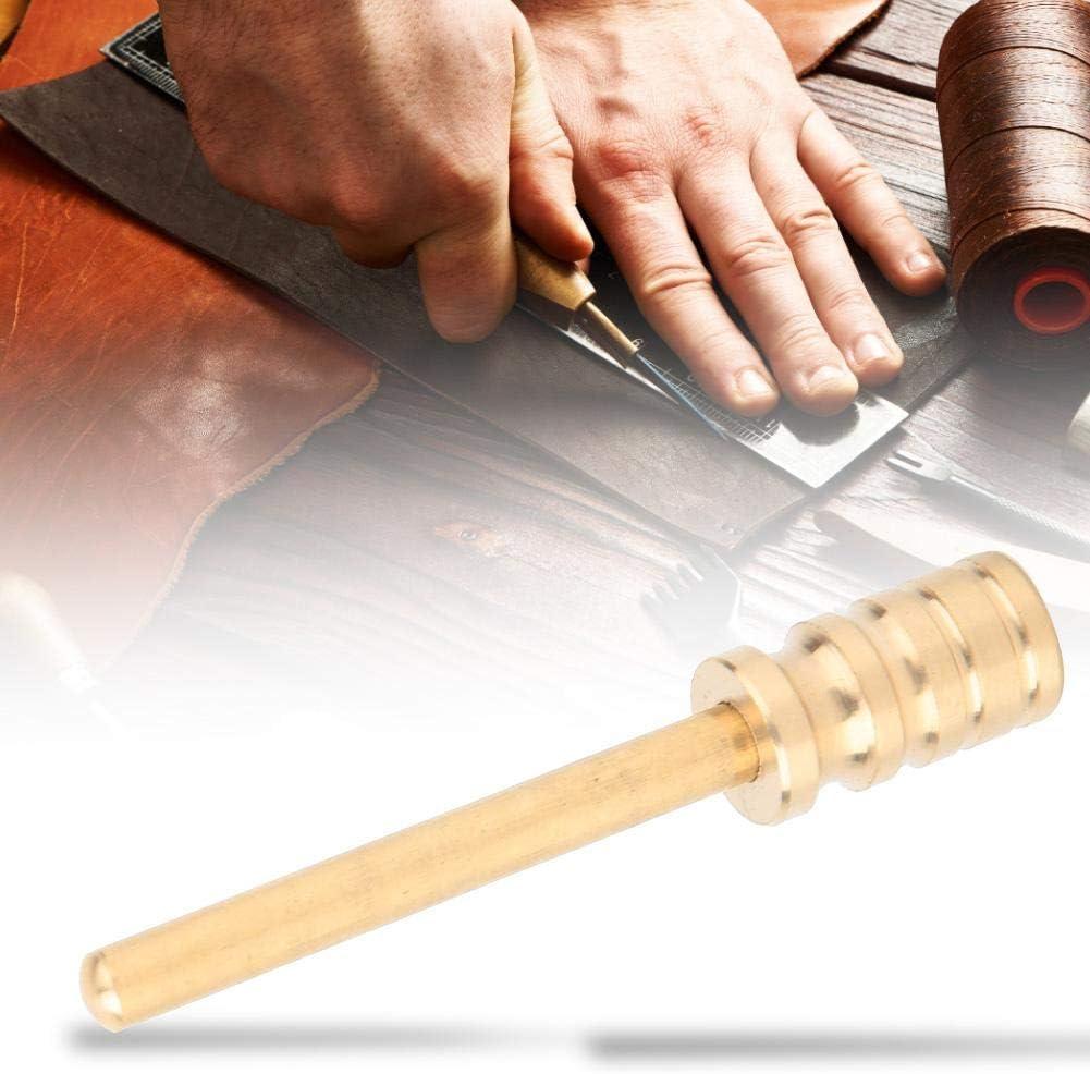 Double Head 2mm Kit de soldadura el/éctrica 60W 220 V herramienta de soldadura de temperatura ajustable para DIY Craft de cuero Varios consejos para elegir