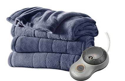 Sunbeam manta eléctrica King, Microplush manta, Ultra suave peluche de Imperial con 10 ajuste