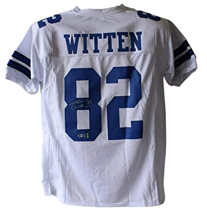 buy online c23a1 f18fa Autographed Jason Witten Jersey - White XL BAS 24172 ...
