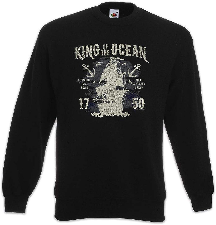 Urban Backwoods Pirate Skull Hommes T-Shirt