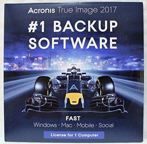 Acronis True Image 2017 - 1 Computer [CD-SLEVE] Mac OS X /...