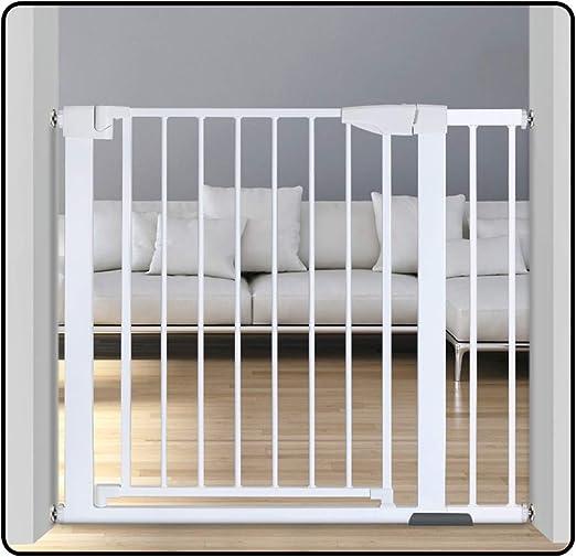 QIANDA Barrera Seguridad Niños Protector Escaleras Blanco La ...