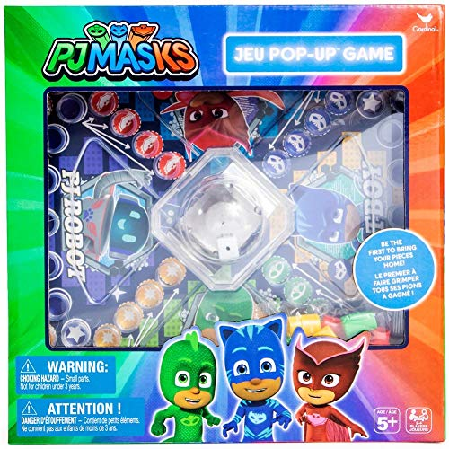 PJ Masks Pop-Up Board Game - Multiplayer - Ages 5 and Up