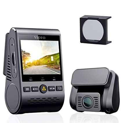 VIOFO A129 Duo 2-Channel Full HD 1080p 30fps Car Dash Camera with GPS Logger