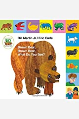 Lift-the-Tab: Brown Bear, Brown Bear, What Do You See? 50th Anniversary Edition (Brown Bear and Friends) Board book