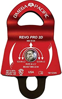 """product image for Omega Pacific Omega Revo Pro 2"""" Double Pulley NFPA OPPLREVO2D"""