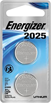 2-Pack Energizer Lithium Coin Watch/Electronic Battery