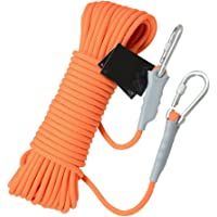 WARP 10M Outdoor Rock Climbing Rope, High Strength Mountaineering Cord Emergency Escape Rope Safety Fire Rescue Rope for Outdoor Sports Caving Engineering Expansion