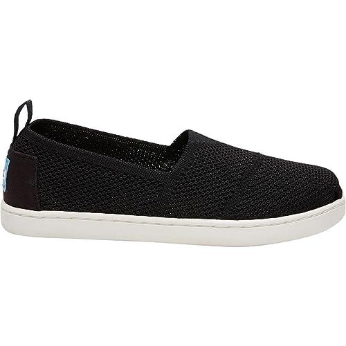 TOMS - Mocasines de Tela para niño negro negro, color negro, talla 31 EU Niños: Amazon.es: Zapatos y complementos