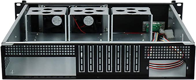 JINDIAN 2U Chassis Storage Server Chassis It is Applied in The Field of Internet of Things Cloud Computing Security Monitoring etc//Empty case