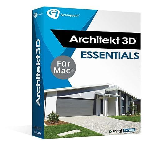 Architekt 3D X9 Essentials Für Mac   Fotorealistische Haus  Und  Gartenplanung Für Ihren Mac!
